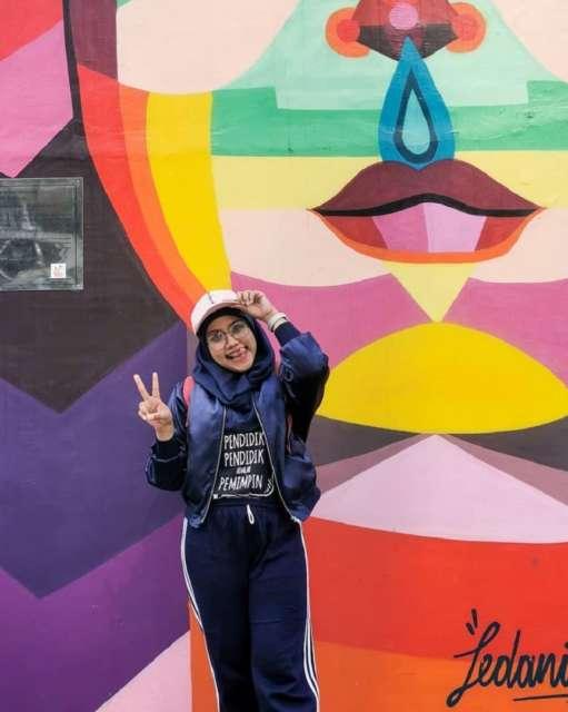 Lukisan mural di Taman Ismail Marzuki