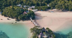 Lanskap pantai balekembang