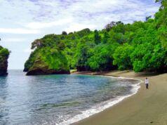Garis Pantai Licin Malang