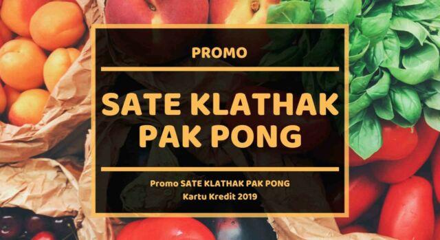 Pormo Sate Klathak Pak Pong