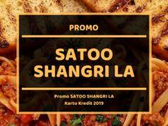 Promo Satoo Shangri La