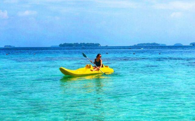 wahana kayak di pulau seribu
