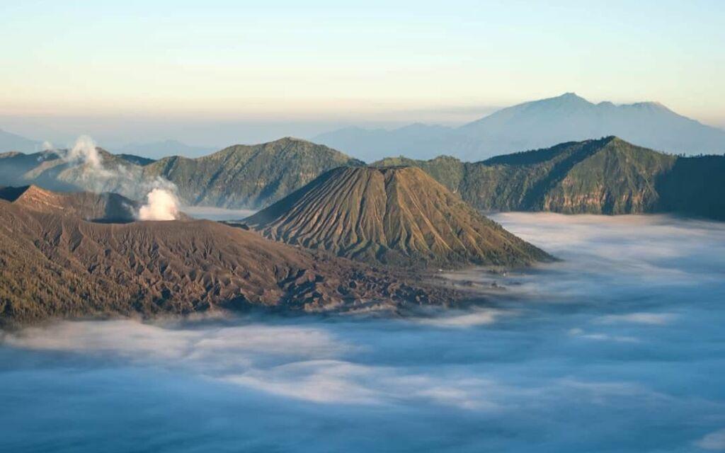 Pemandangan Kaldera Gunung Bromo