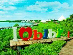 Plang Nama BeeJay Bakau Resort Probolinggo