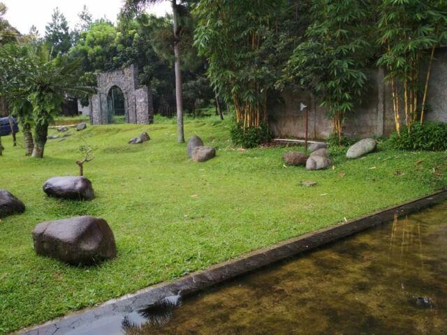 area hijau taman kupu-kupu