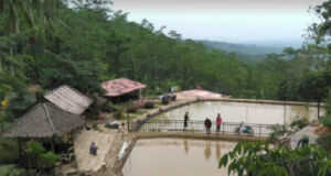 Area pemancingan dan kolam renang di Legok Jamboe