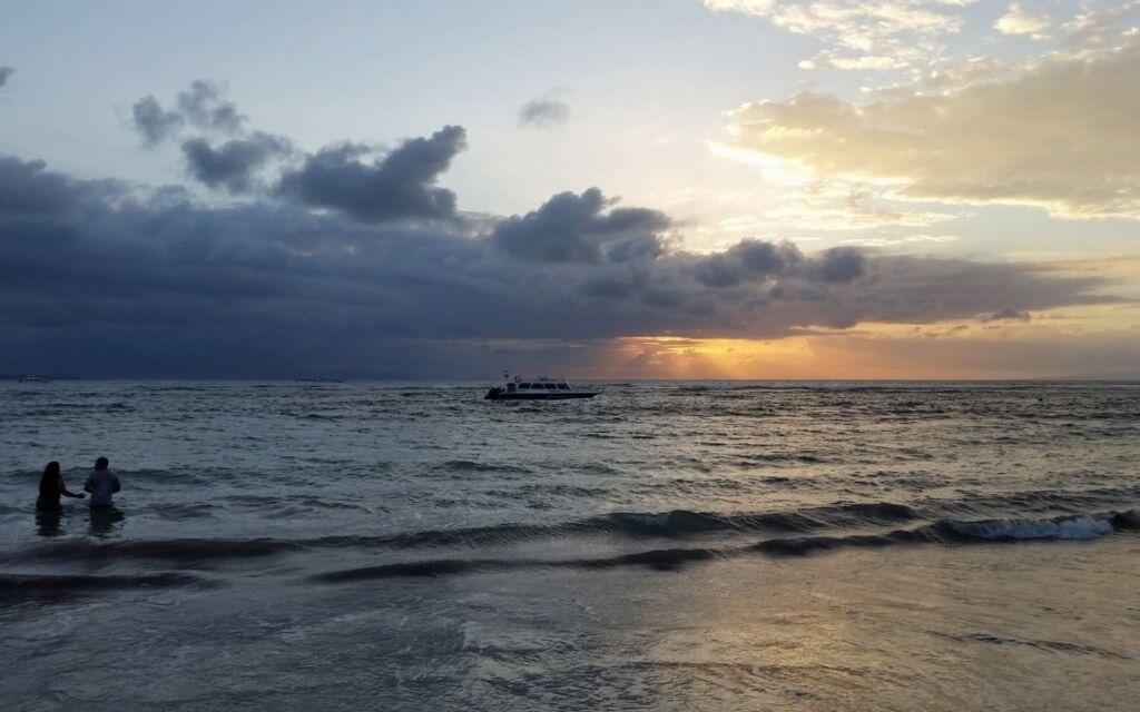 matahari terbit sunrise pantai sanur