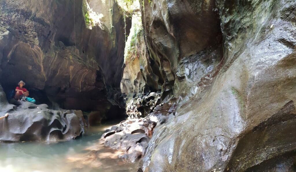 Ngarai di Hidden Canyon
