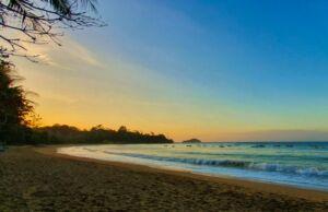 Sunset di pantai tamban