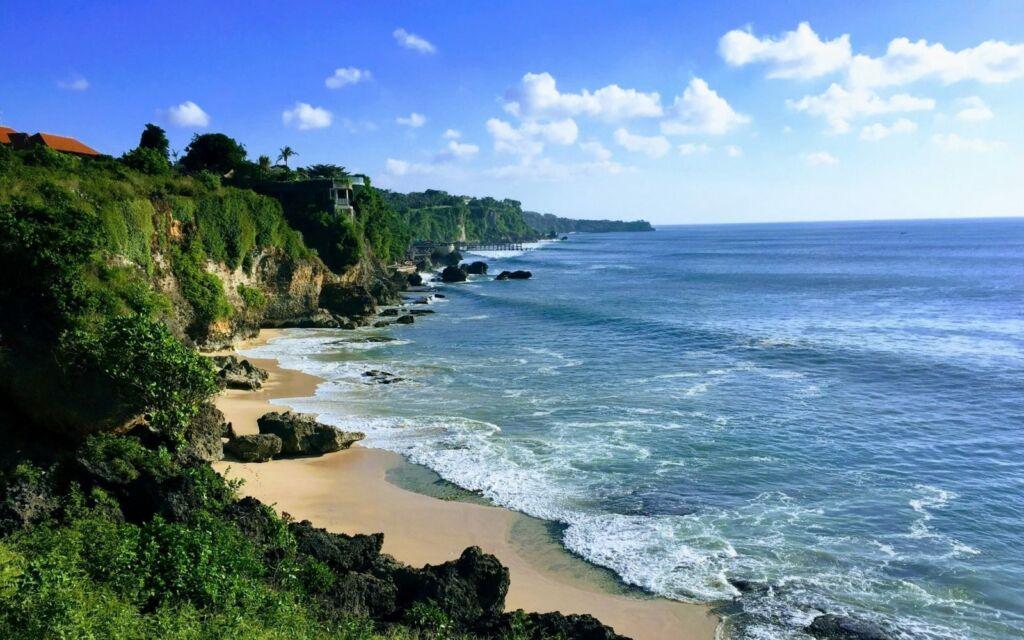 lanskap pantai tegal wangi