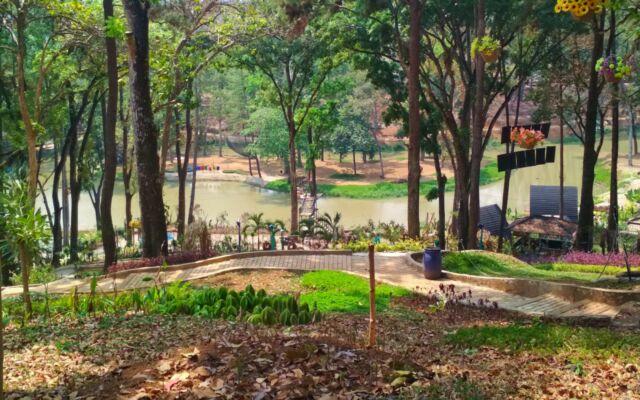area taman rekreasi yang sejuk asri