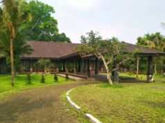 Area kawasan wisata taman kupu-kupu