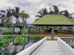 area taman secret garden village tabanan