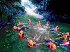 Aktivitas body rafting curug naga