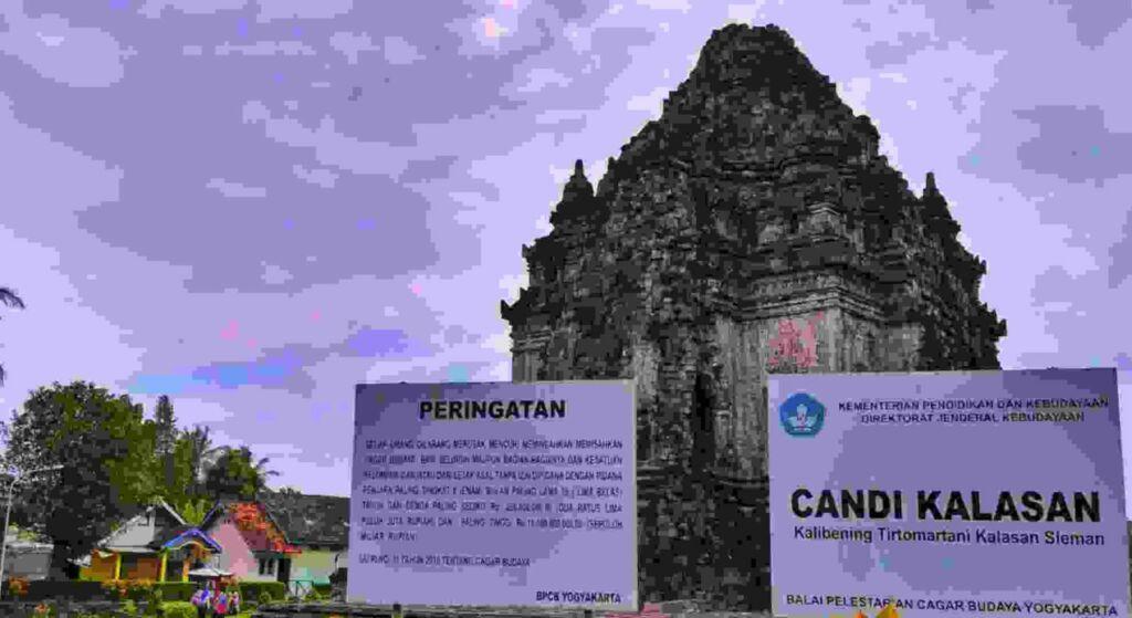 Candi Kalasan menjadi salah satu objek wisata candi favorit wisatawan
