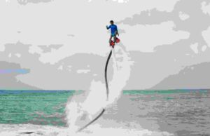 Flying Board di Tanjung Benoa Watersport