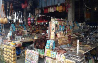 Jajaran Toko di Pasar Seni Sukawati