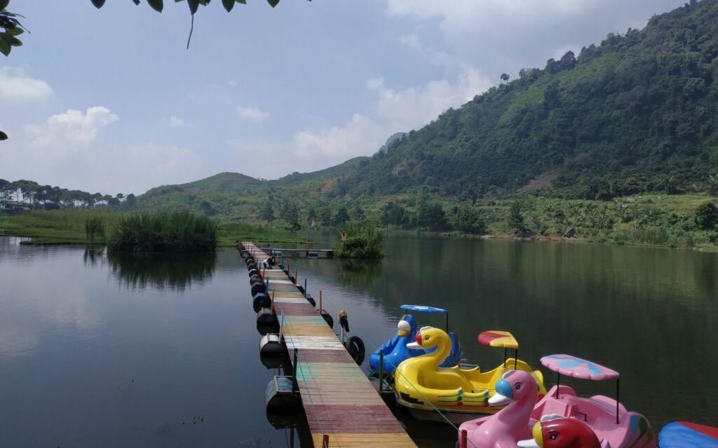 Tempat wisata di Bogor yang cukup murah datanglah ke Situ Rawa Gede