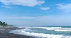 Area tepi Pantai Kuwaru Bantul
