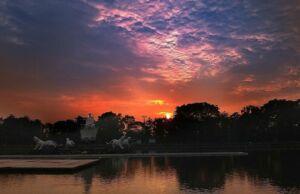 Sunset di Situ Buleud