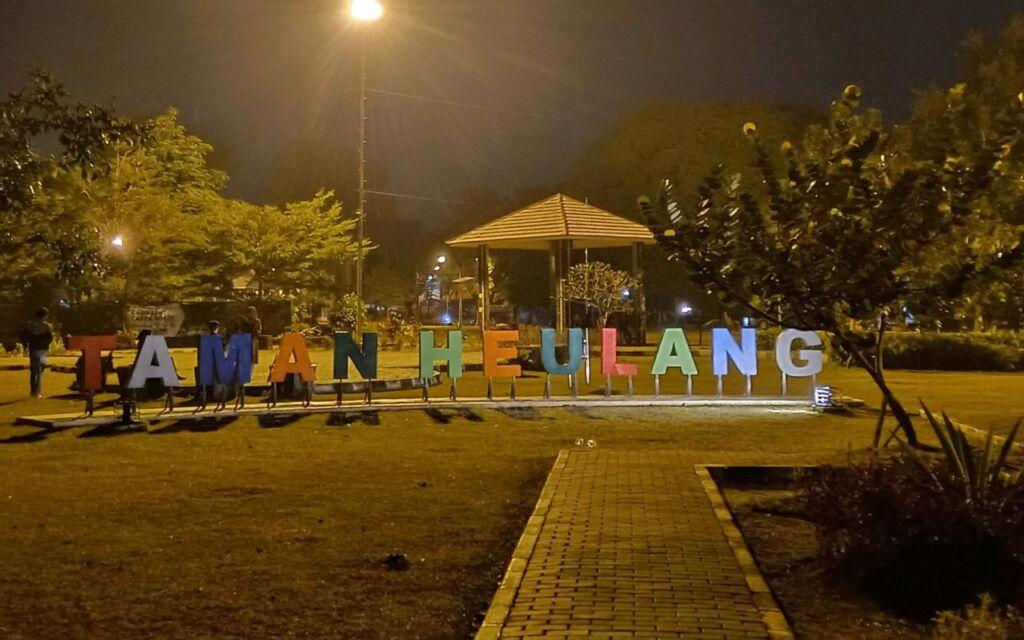 Taman Heulang di malam hari