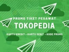 Promo Tiket Pesawat Tokopedia
