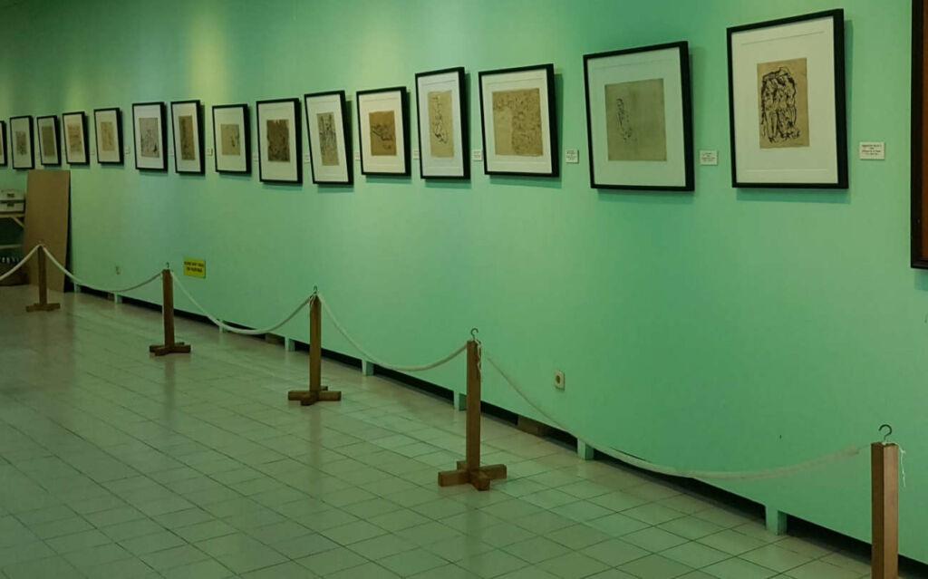Karya-karya Affandi di Museum Affandi
