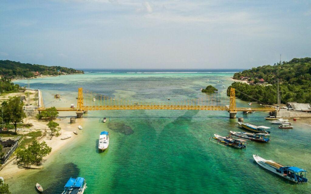 Indahnya Alam Yellow Bridge Bali
