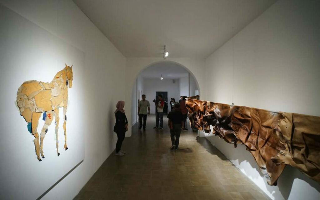 Karya seni rupa kontemporer di Jogja National Museum