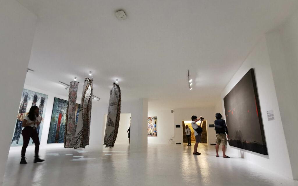 Salah satu sudut galeri Jogja National Museum
