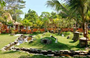 suasana sekitar kampung flory yogyakarta