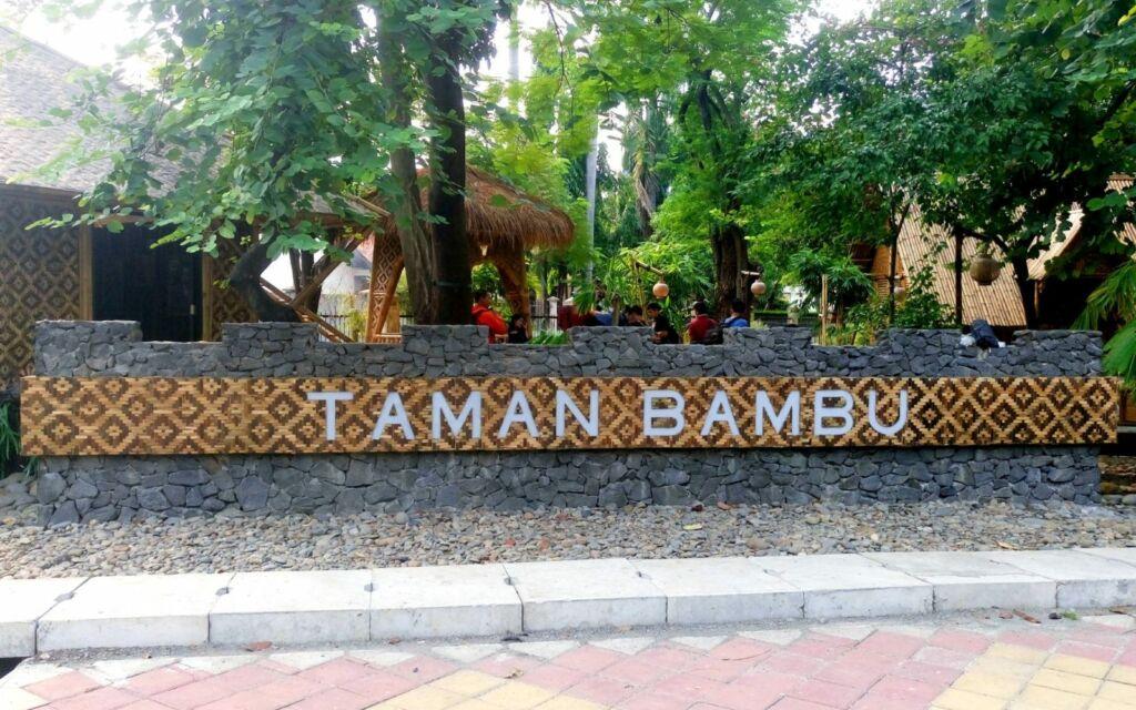 area depan taman bambu tangerang