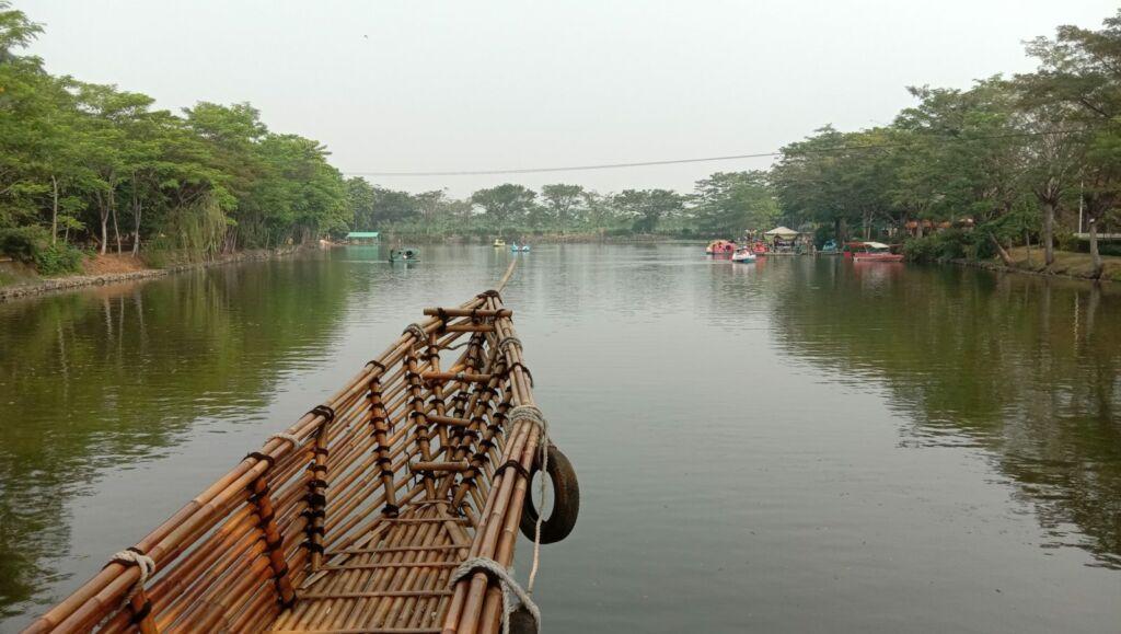 Gardu perahu swafoto
