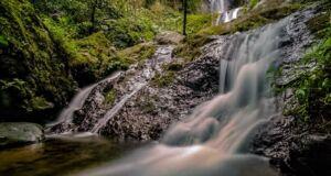 Air Terjun Dolo yang Bertingkat - tingkat
