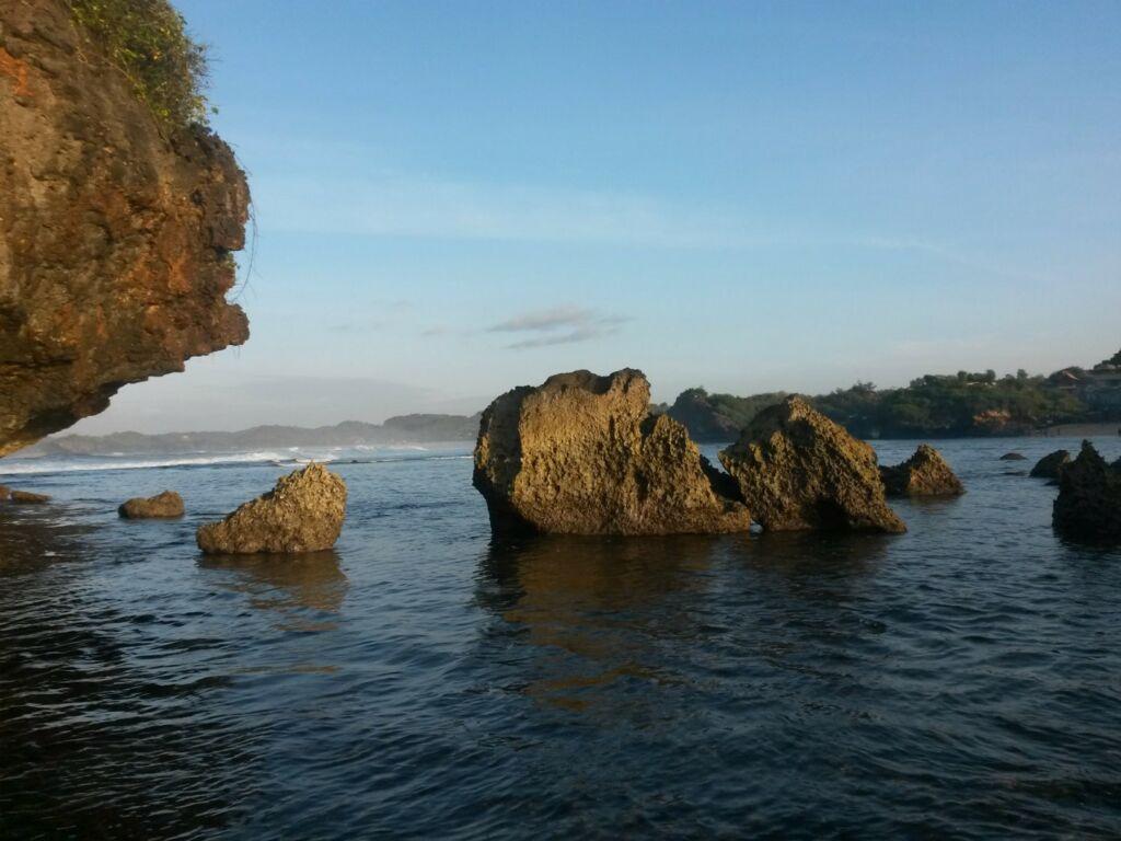 Gugusan pulau karang