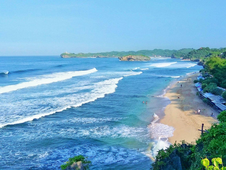 Pantai Indrayanti Surga Di Tepi Laut Selatan November 2020 Travelspromo