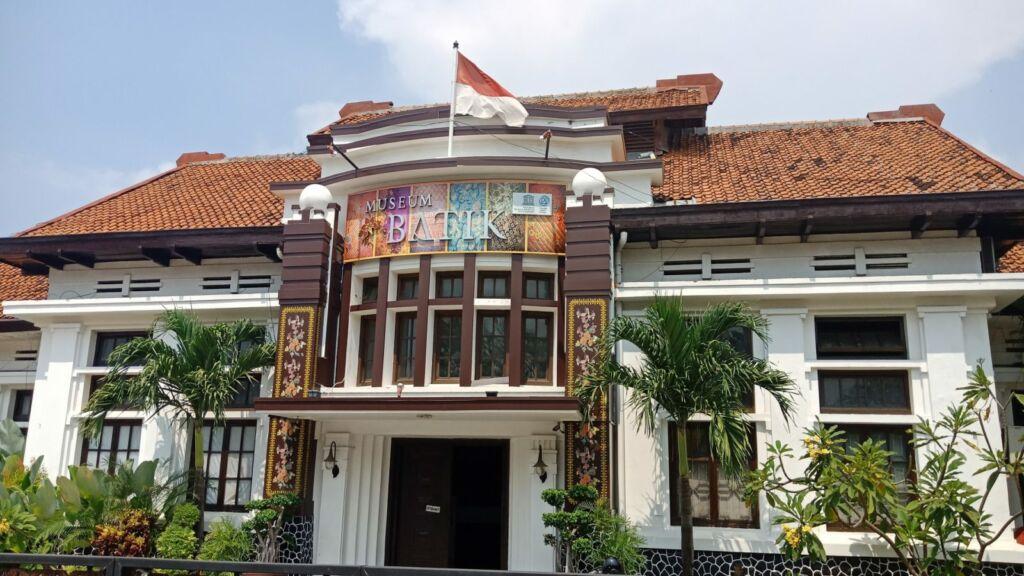 Tampak Depan Museum Batik Pekalongan