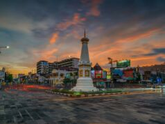 Tugu Pal Putih atau Tugu Jogja jadi simbol Kota Jogja
