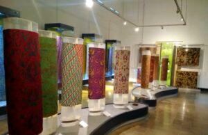 ruang pamer kain batik