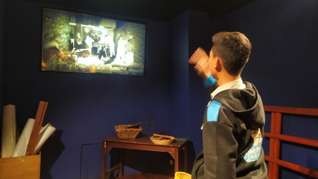 Augmented reality di museum gedung sate