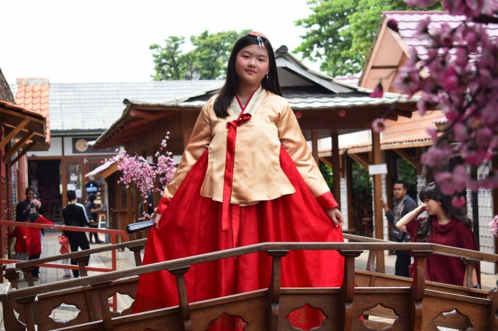 Hanbok ala kampung korea bandung