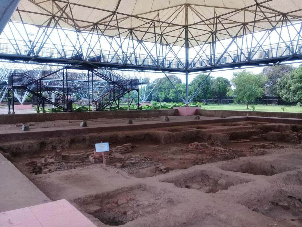 Lokasi Galian di Area Museum Trowulan