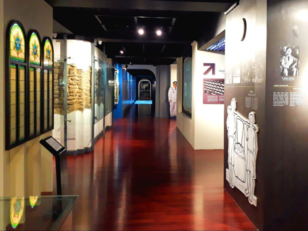 interior museum gedung sate