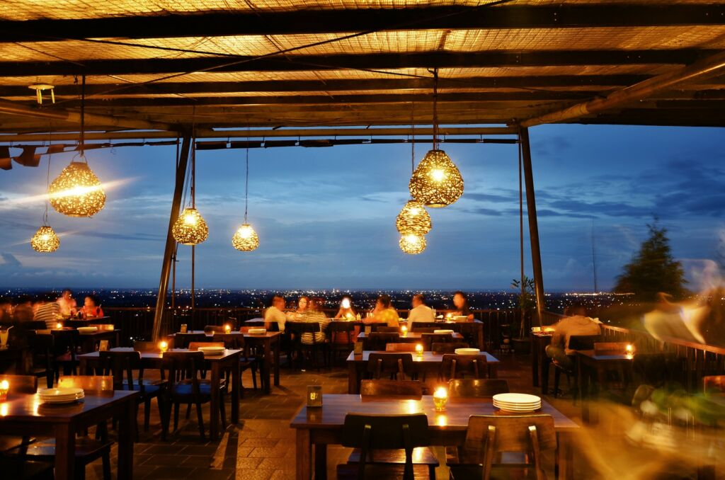 View di Restoran Klapa Manis Bukit Gronggong Cirebon
