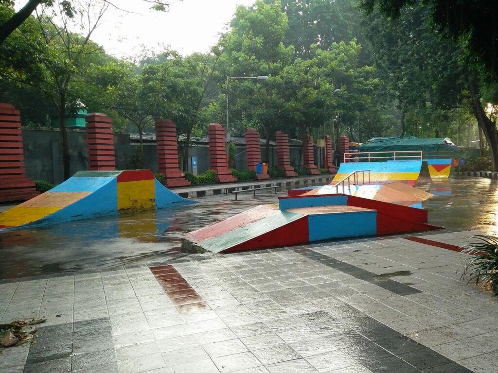 Arena Skate Board Taman Bungkul