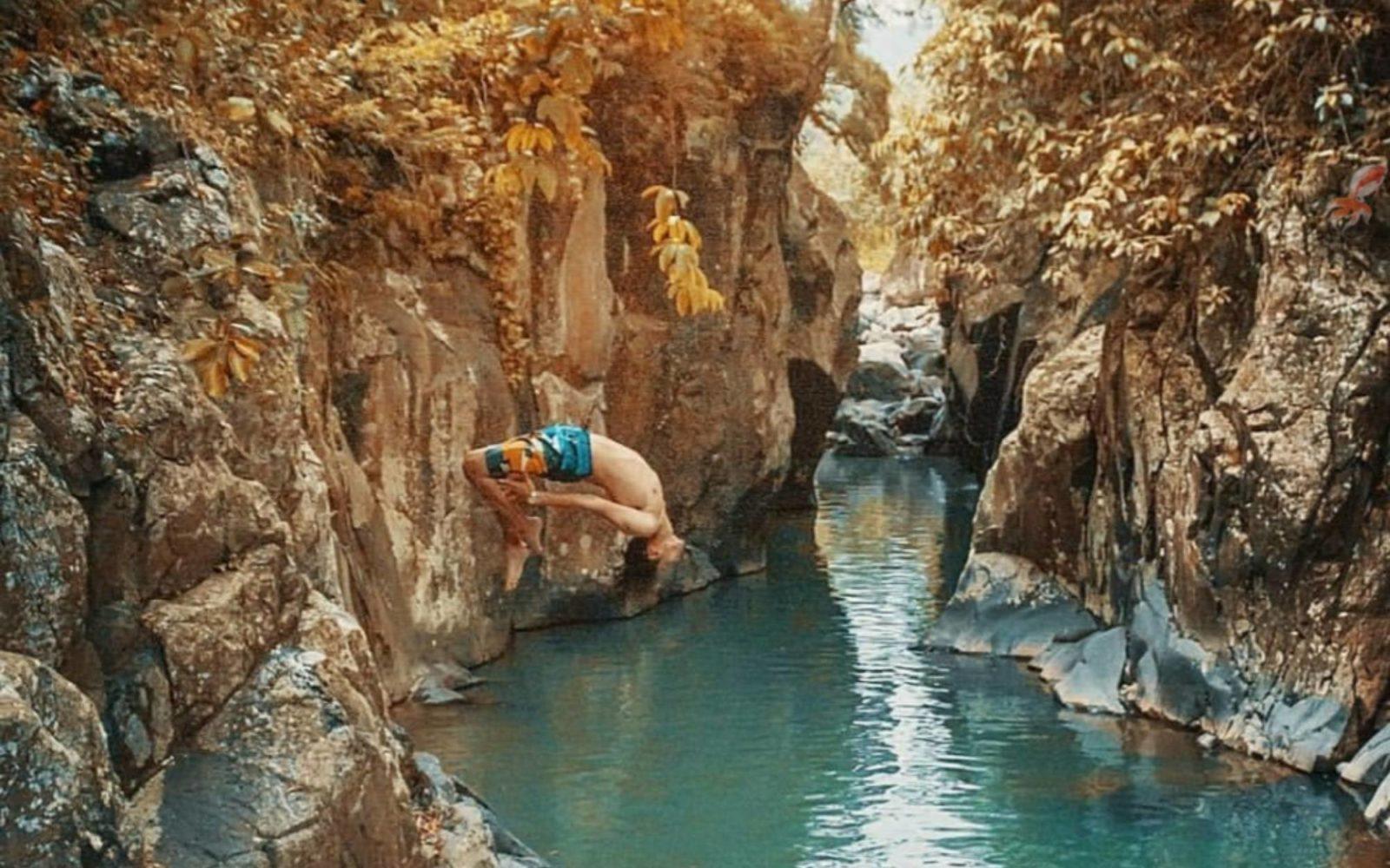 Leuwi Jurig Eksotisme Aliran Sungai Bungbulang November 9