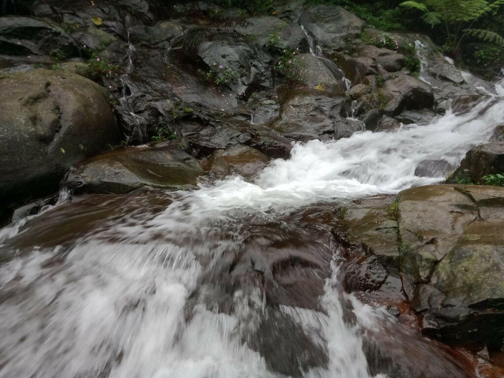 Aliran sungai curug cipurut