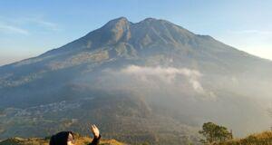 Panorama Gunung Lawu