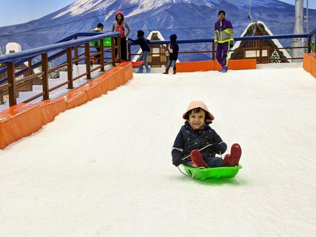 Meluncur dengan sledge