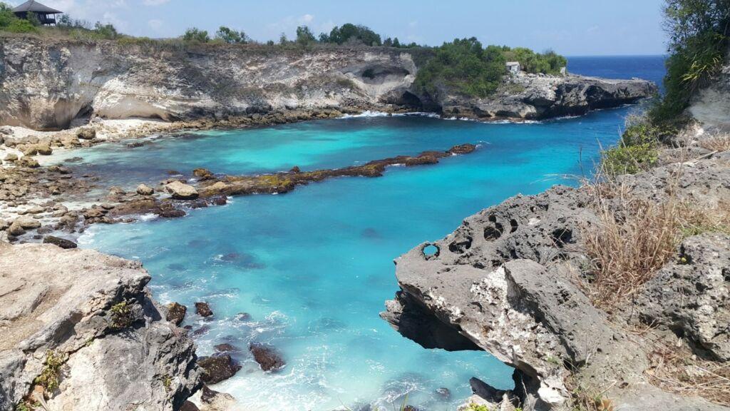 Eloknya Laut di Nusa Ceningan
